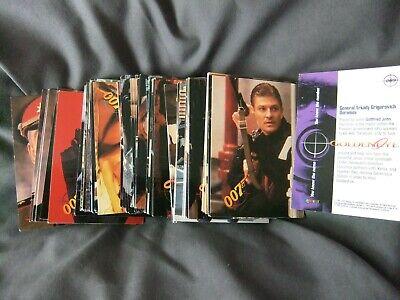 Collectibles James Bond 007 Goldeneye X98 Graffiti Cards 1995 Vfn Some Duplicates Save 50-70%