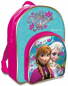 Official-Disney-Anna-amp-Elsa-Frozen-Backpack-Back-to-School-free-p-amp-p