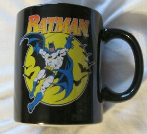 BATMAN-The-DARK-KNIGHT-DC-Comics-Vandor-Licensed-Product-Ceramic-Coffee-Mug-EUC