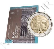 SAN MARINO 2 euro 2017 conmemorativos GIOTTO 750 aniv. del Nacimiento