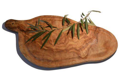 Planche à viande naturelle rustique avec manche ref:6380