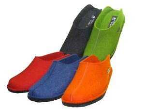 Haflinger-Flair-Smily-dames-et-messieurs-Chaussures-Mules-Sabots-Chaussons