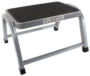 ProDec-Steel-Stepup-Small-Platform-Stool-Lightweight-Rubber-Top-Hop-Stand-25cm