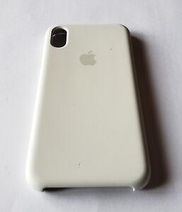 premium selection 02d3a ec5d9 Details about Original Apple iPhone X Silicone Case (MQT22ZM/A) - WHITE -  Refurbished
