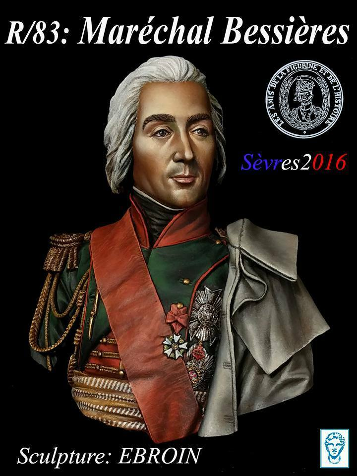 Alexandros Models Napoleonic Marshall Bessieres Resin Bust 1 10th Unpainted Kit