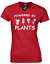 POWERED-BY-PLANTS-LADIES-T-SHIRT-VEGETARIAN-VEGAN-MEME-FASHION thumbnail 8