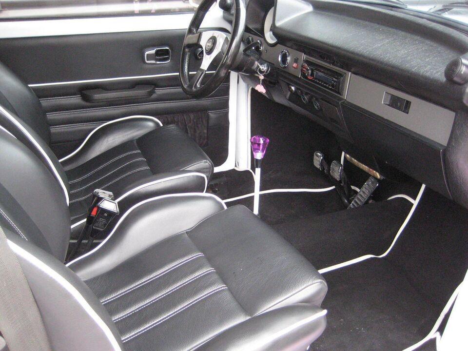 VW 1303 1,3 Benzin modelår 1974 km 0 Hvidmetal