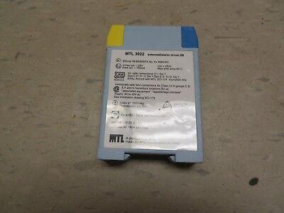 MTL INSTRUMENTS MTL-3022 SOLENOID ALARM DRIVER MTL3022