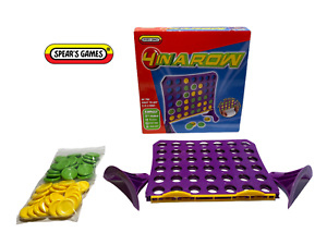 4-IN-A-ROW-Game-by-Spear-039-s-Games-Complete