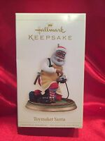 2006 Hallmark toymaker Santa Ornament - Santa Claus - Christmas - Rare 7th