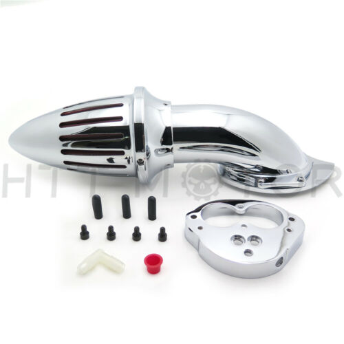 Chrome Air Cleaner Kit Intake For Kawasaki Vulcan 1500 1600 Classic 2000-2012