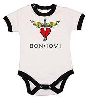 Baby Body, Bon Jovi 2 Fun , Bodysuit Kurzarm Black