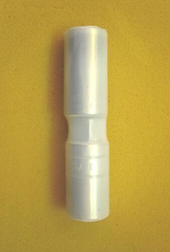"Clear Flawed FP301 1.5/"" 1-1//2 diameter 3M Heat Shrink Tubing One 48/"" piece"