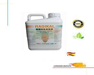 5L Herbicide Action Systémique Totale Non Résiduelle Lutte Contre Mauvaise Herbe
