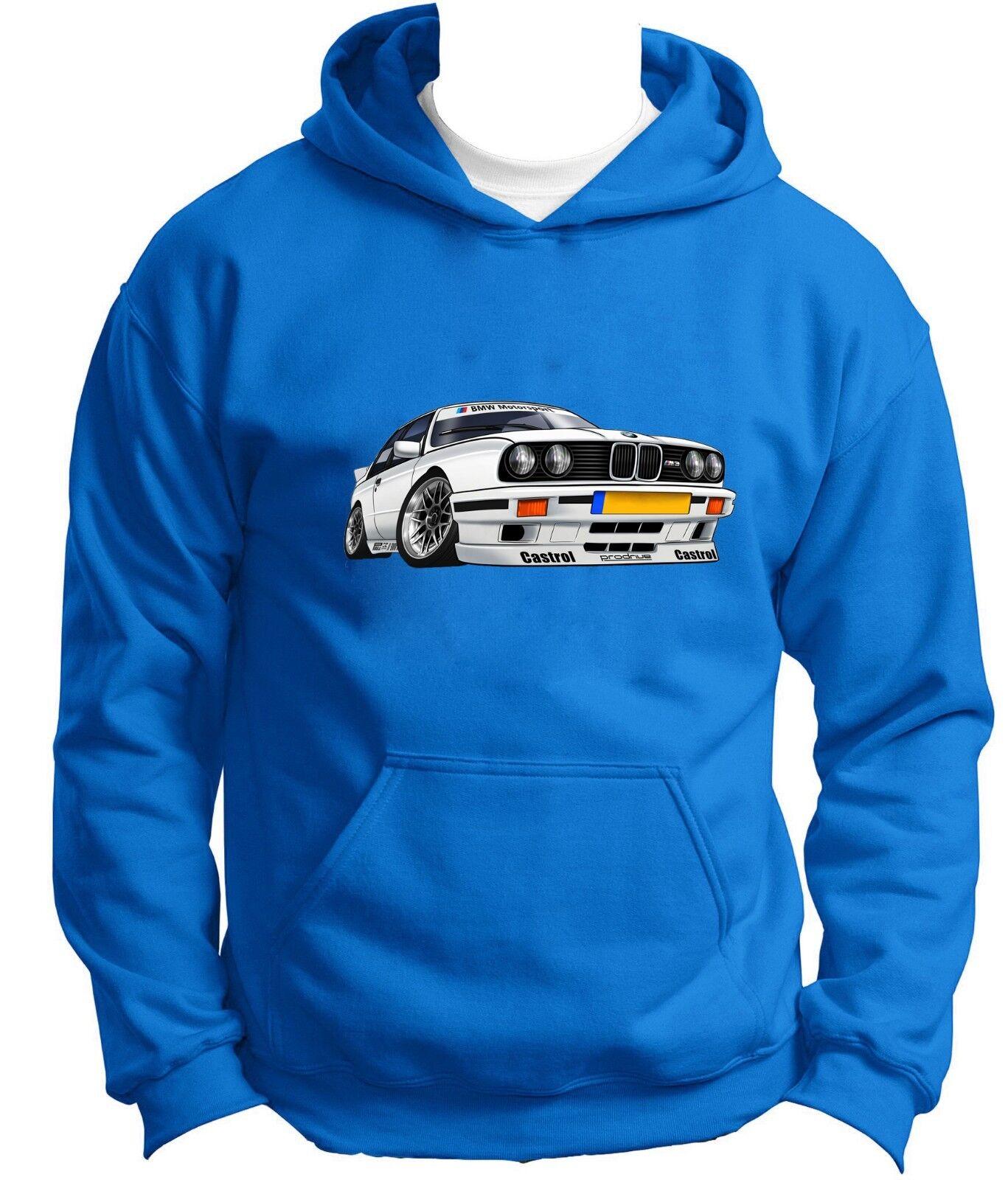 NEW BMW M3 Hoodie Hoody Hooded Sweatshirt Jumper Pullover