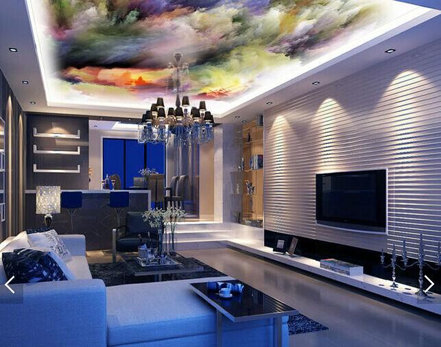 3D Farbige Wellen, Segeln  Fototapeten Wandbild Fototapete BildTapete Familie DE