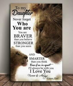 Download Lion To My Daughter Never Forget Who You Are I Love You ...
