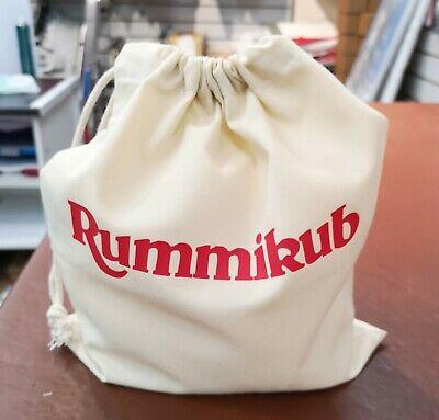 Dominos,Scrabble Travel Mahjong Tile Game Mixing and Storage Bag for RummiKub