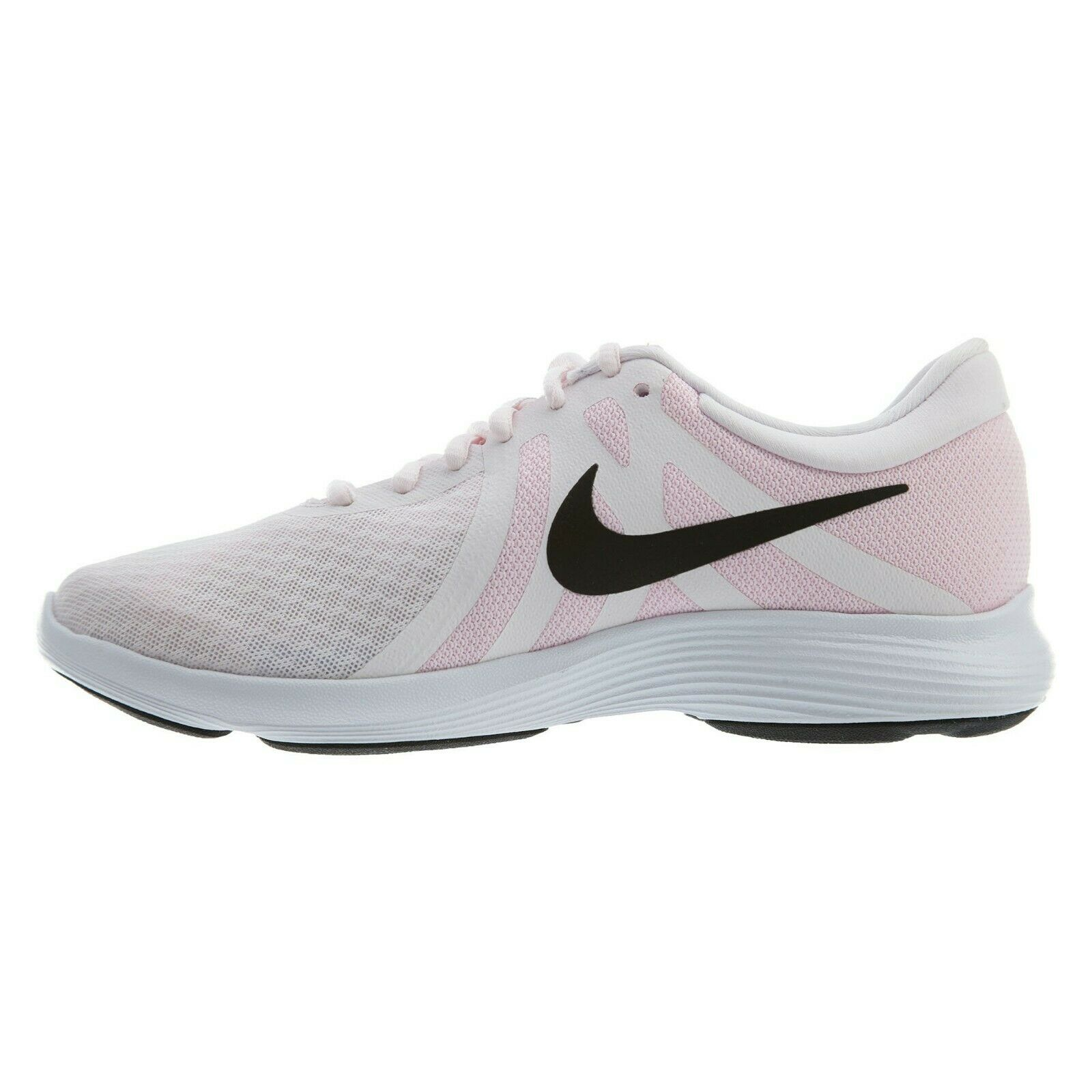 b08938f5ca01 Nike Revolution 4 Womens 908999-604 Pale Pink White Black Running ...