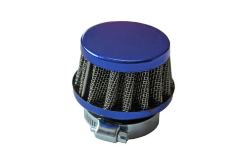 1 x Blue S1 35mm Motorcycle Bike Chopper Cone Air Intake Filter Performance