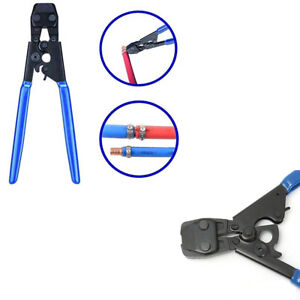 """Steel Clamps Sizes from 3//8/"""" to 1/"""" 1PC Clamp Cinch Crimp Crimper Tool for St"""
