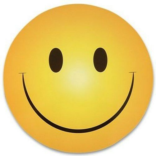Modeste 100 Smiley Sourire Happy Face Aimants En Gros Lot