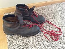 L. L. BEAN - Vintage Hiking Mountaineering Brown Leather men's Boots Size 10.5 C