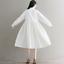 Womens-A-Line-Pleated-Cotton-Linen-Shirt-Dress-Thin-Long-Sleeve-Dress-Casual-New thumbnail 4