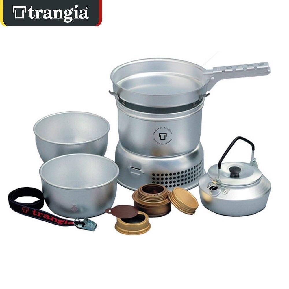 Trangia 27-2 Ultra Ligero a Prueba De Tormentas de sistema de cocción cocinar Set Estufa de Camping