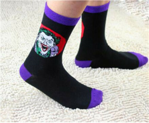 Batman Suicide Squad Stockings Basketball Socks for Men woman long Ankle cosplay