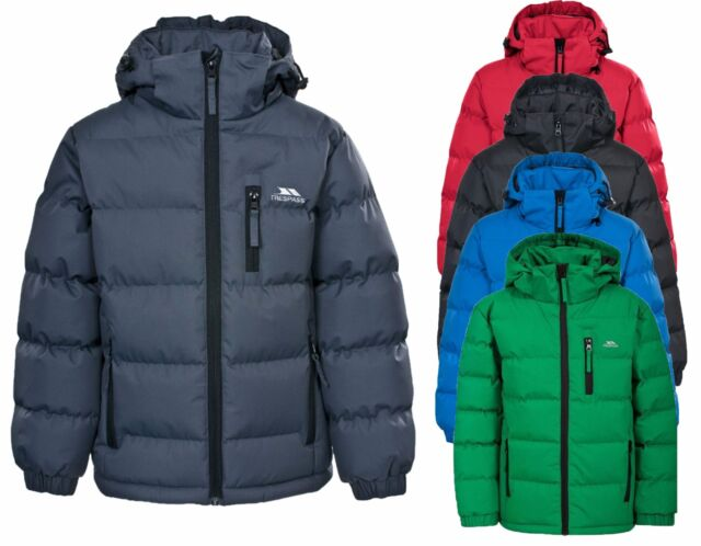 Kids Quilted Jacket Boys /& Girls Jacket Padded School Uniform Coat RS195B