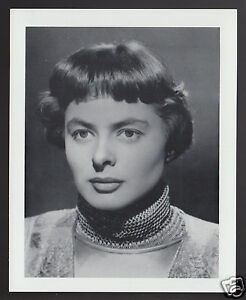 INGRID-BERGMAN-Movie-Star-Actress-1995-WHO-039-S-WHO-GAME-CANADA-PHOTO-TRIVIA-CARD