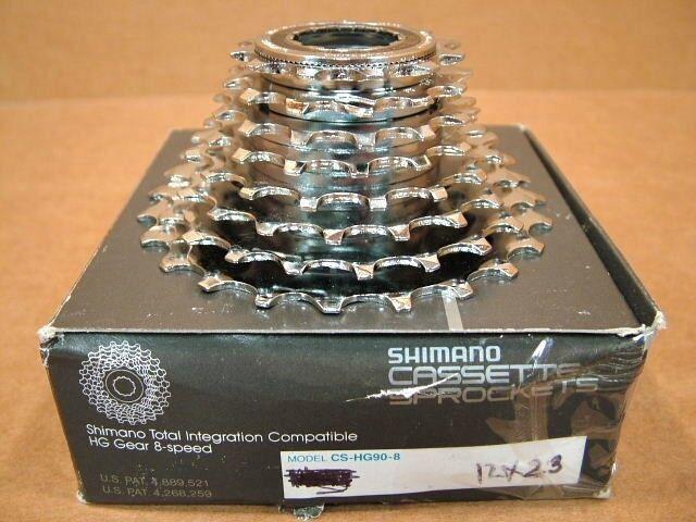 New-Old-Stock Shimano HyperGlide HyperGlide HyperGlide (HG90) 8-Speed Cassette - 12x23 fcb62e