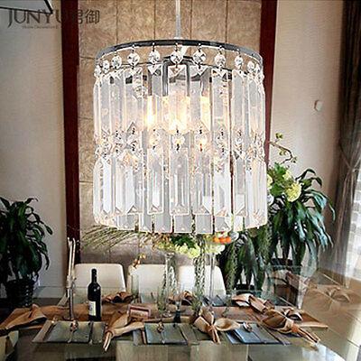 Modern Crystal glass Pendant lamp chandelier Bedroom lights Ceiling Lights 4015H