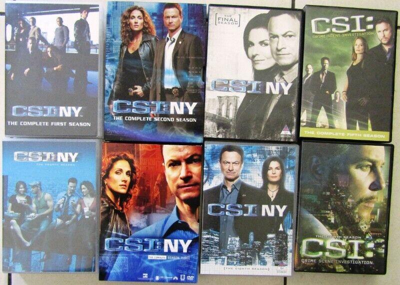 C.S.I. Box Sets - 160 DVD's in total