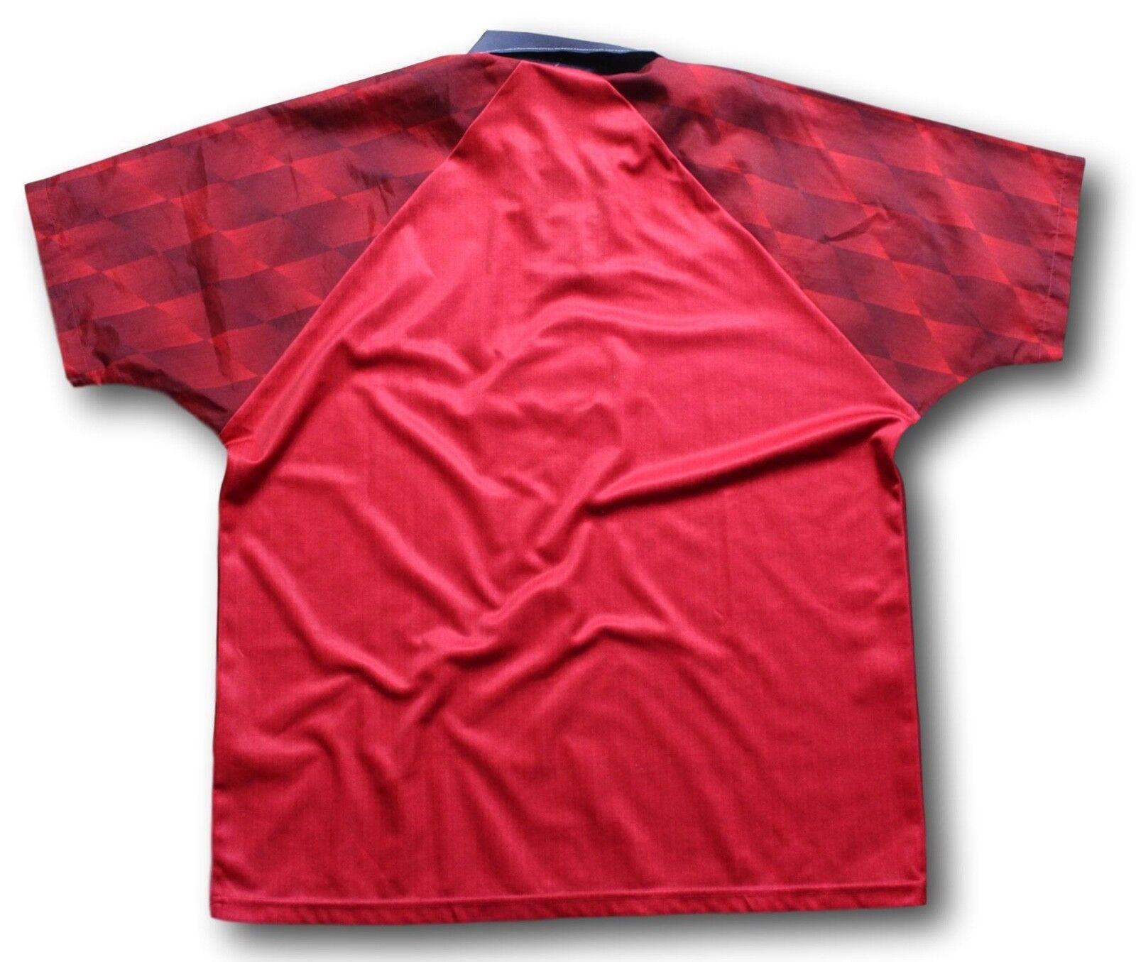 6a8d483f ... Vintage 1996-98 Manchester Manchester Manchester United Home Soccer  Football Shirt Jersey Size XL 751da3