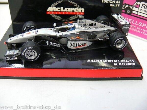 1 43 Minichamps McLaren Mercedes MP4 15 M Hakkinen 2000 530004301