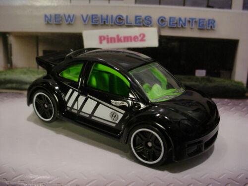 2016//2017 NIGHTBURNERZ VOLKSWAGEN NEW BEETLE CUP☆Black VW☆LOOSE Hot Wheels