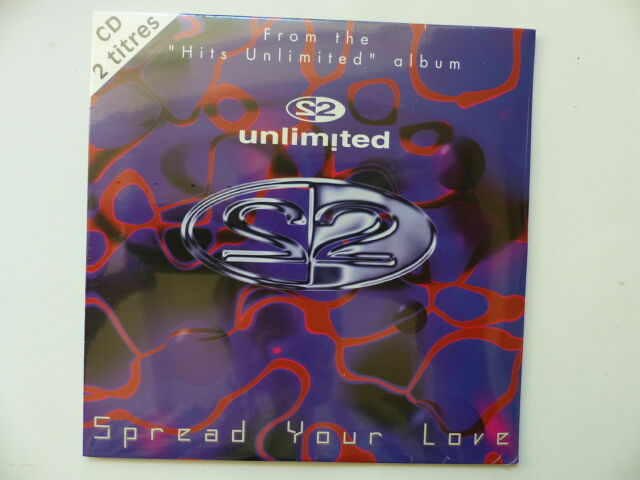 CD Single UNLIMITED Spread Your Love 3259119216025