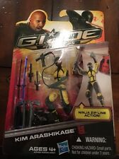 GI JOE Retaliation Cobra Kim Arashikage New In Package Poc 30th Resolute