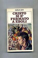 Carlo Levi # CRISTO SI È FERMATO A EBOLI # Mondadori 1981