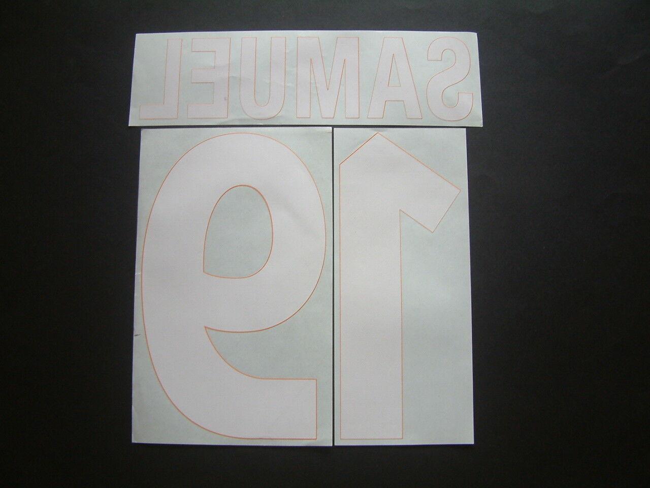 Name + Nummer offizielle AS ROMA 3 2000-2002 2000-2002 2000-2002 offiziell nameset 95a880