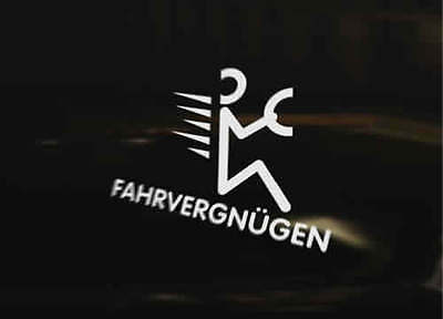 Fahrvergnugen Vinyl Graphic Decal Car Bumper Sticker Gt Tdi Gti Vr6 Golf Polo Ebay Of course, in order to have farfegnugen one needs the 'fiduciary' components such as an engine that actually works, tires that have air, gas in the tank. ebay