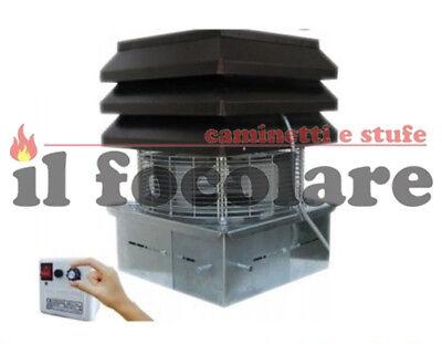 Estrattore aspiratore fumi PL21 CE0260 per stufe pellet PALAZZETTI-QLIMA-RAVELLI