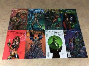 DARKNESS-13-14-15-16-17-18-19-20-LOT-OF-8-NM-1998-1999-TOP-COW-IMAGE