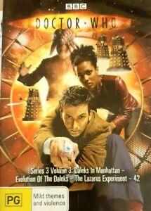 DVD-Doctor-Who-Series-3-Vol-3-2007-PAL-R4