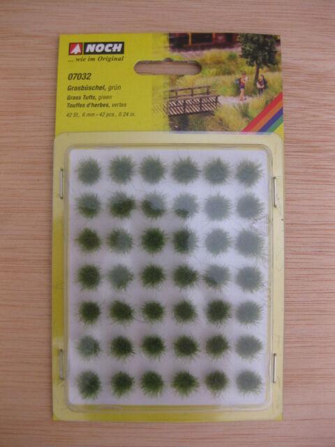 Noch - ref.07032 - Manojos de hierba verdes 6 mm