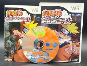 Nintendo-Wii-juego-034-Naruto-Clash-of-the-Ninja-2-revolucion-034-completamente