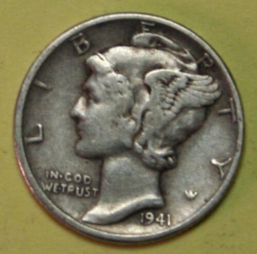 US Mercury silver Dimes Price per Each Coin 1939-S 1940-S 1941-s CHECK Inventory