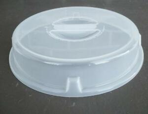Image is loading CORELLE-10-034-Sheer-Domed-MICROWAVE-COVER-Fits- & CORELLE 10